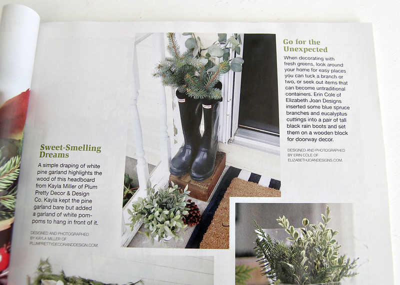 Holiday Front Porch Magazine Feature
