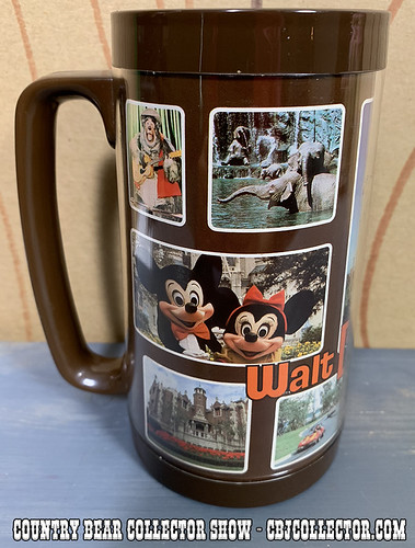 Vintage Walt Disney World Thermo-Serv Mug - Country Bear Collector Show #178