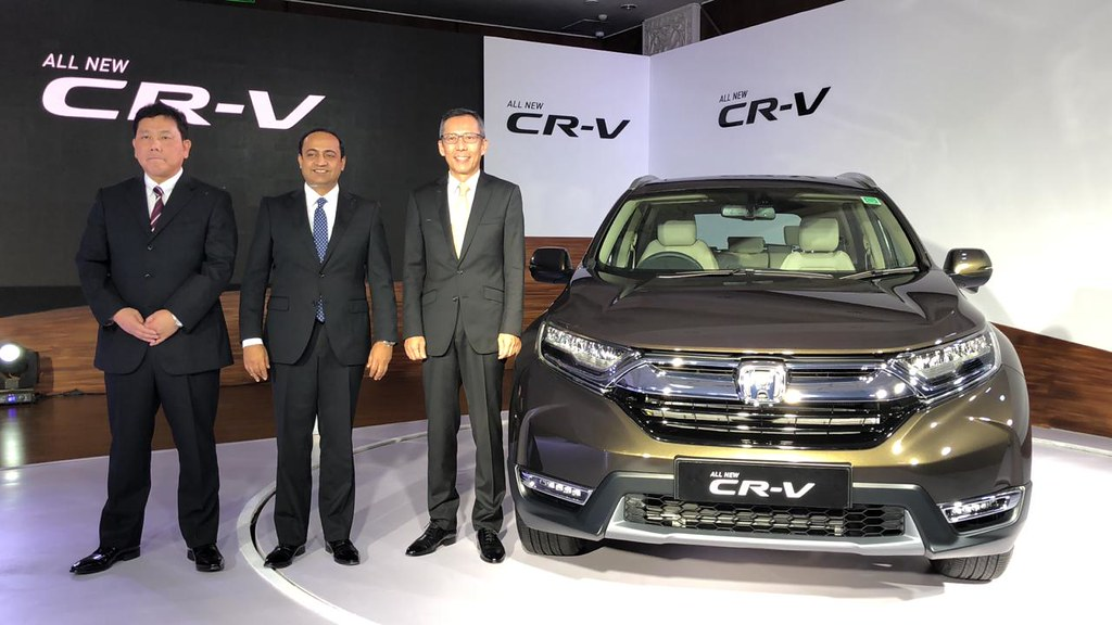 Honda Launches 2018 CR-V