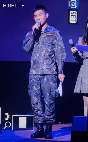 2018-10-12 Daesung at Chuncheon  Baekryeong Art Center