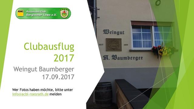 2017 Clubausflug