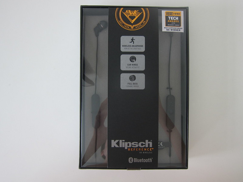 Klipsch R5 Wireless Earphones - Box Front