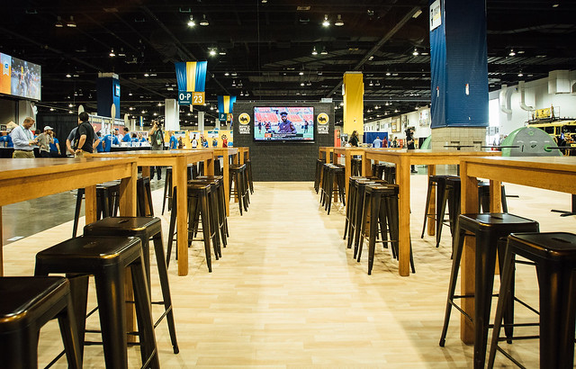 Buffalo Wild Wings at Great American Beer Festival