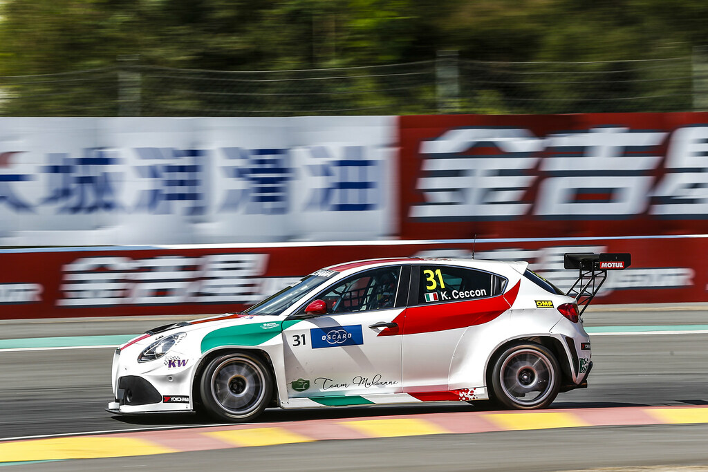 31 CECCON Kevin, (ita), Alfa Romeo Giulietta TCR team Mulsanne, action during the 2018 FIA WTCR World Touring Car cup of China, at Ningbo  from September 28 to 30 - Photo Jean Michel Le Meur / DPPI