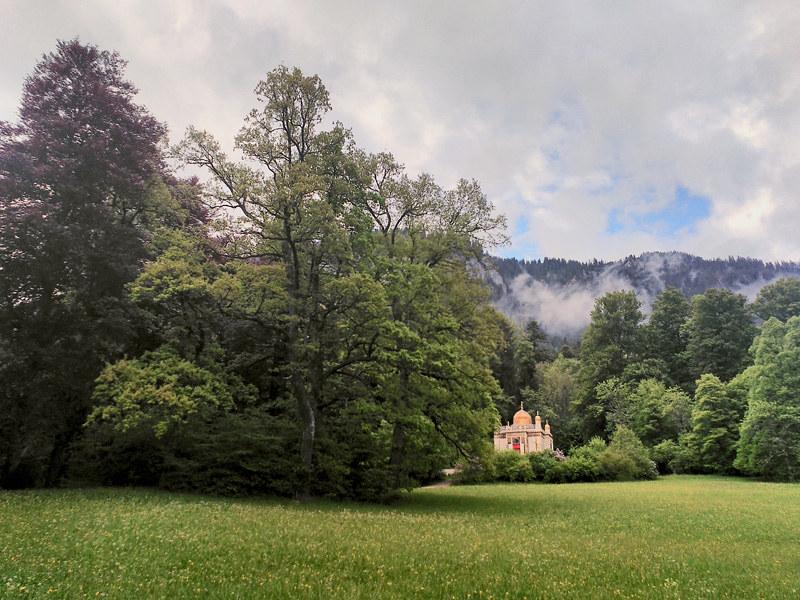 Jardines del Palacio de Linderhof
