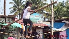 Street Circus, rope walking