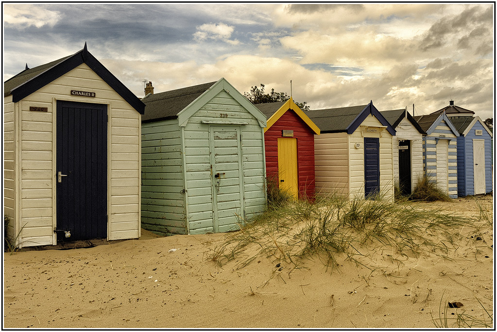 Beach huts, from a trip to Southwold Suffolk.September 2007.