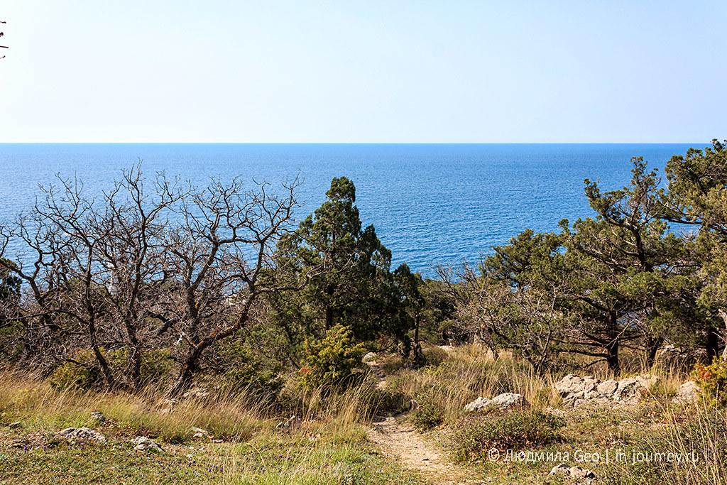 мыс Сарыч в Крыму