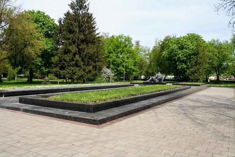 Украина. Луцк в мае 2018. Мемориал Вечной Славы
