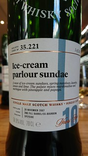 SMWS 35.221 - Ice-cream parlour sundae