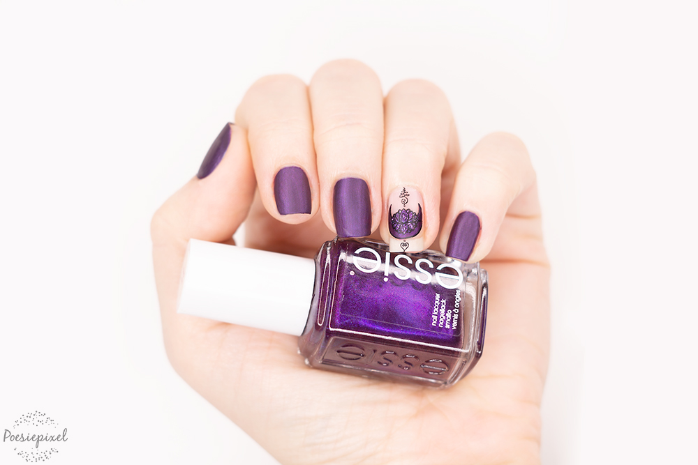 Nailart: Lilac Flowermoon
