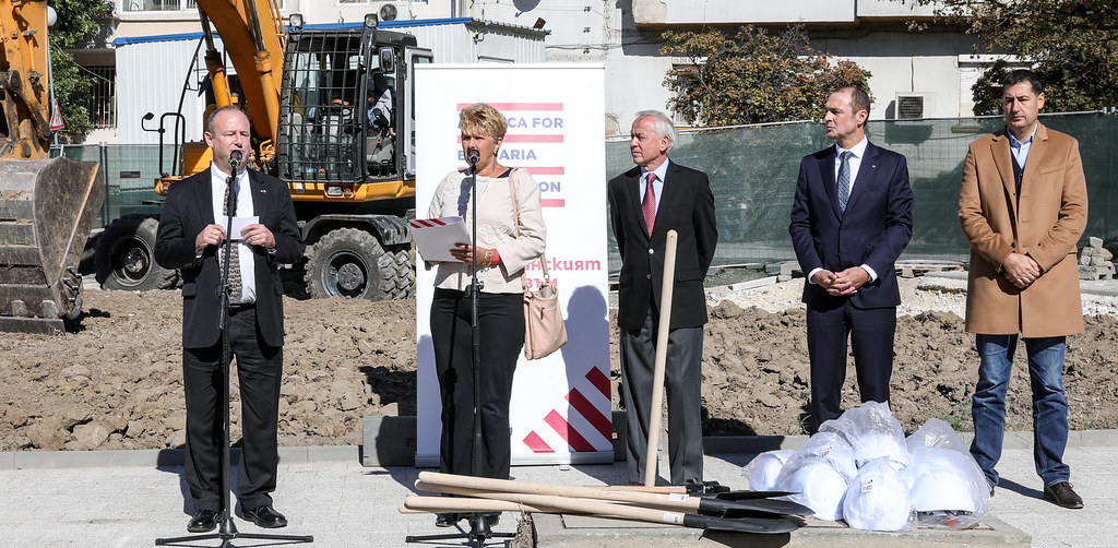 Groundbreaking Ceremony for a Children's Playground at the Bishop's Basilica in Plovdiv