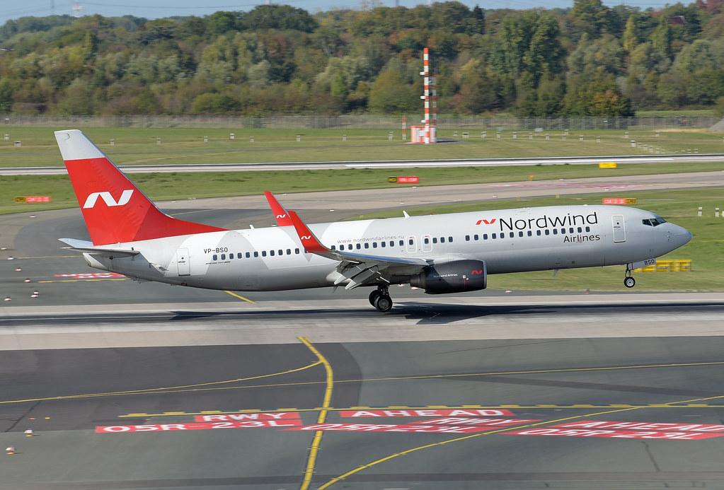 Nordwind Airlines Boeing 737-82R(WL) VP-BSO