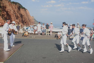 Dance Displays @ Sidmouth Folk Week (2018) 13 - Outside Capering Crew
