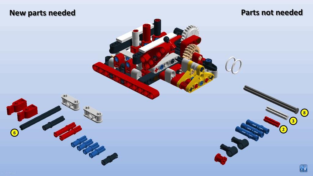 42082 - Rough Terrain Crane - MODs and improvements - Page 3