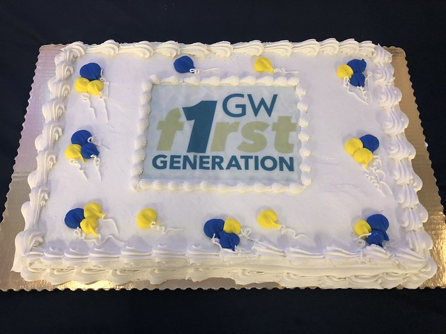 GW's 2017 First-Generation College Celebration
