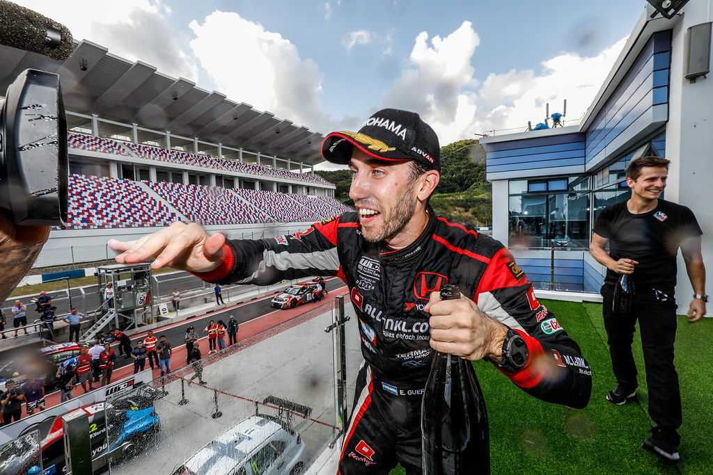 GUERRIERI Esteban, (arg), Honda Civic TCR team ALL-INKL.COM Munnich Motorsport, portrait during the 2018 FIA WTCR World Touring Car cup of China, at Ningbo  from September 28 to 30 - Photo Marc de Mattia / DPPI