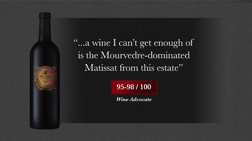 Matissat La Pèira 2016 image reviews MS16 Wine Advocate | by La Peira