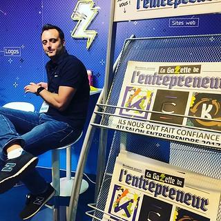 La gazette de l'entrepreneur est dispo sur le salon ! Par contre l'entrepreneur lui est plus trop dispo.