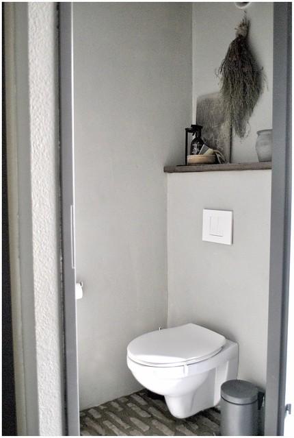 Toilet landelijke stijl