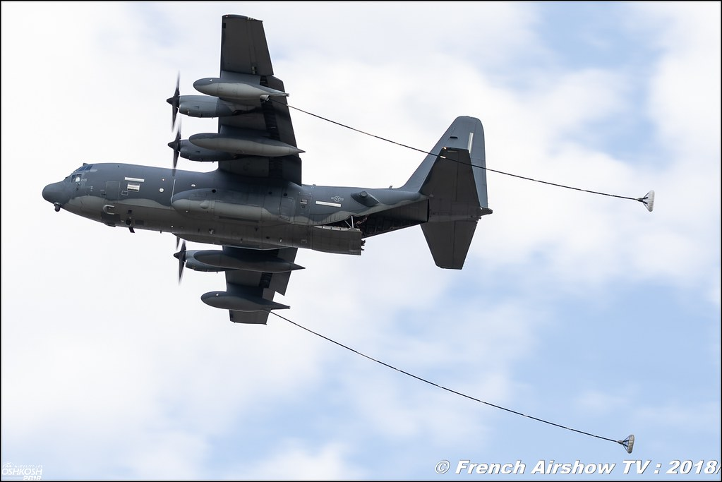 AFRC 70th Anniversary C-130J EAA Oshkosh 2018