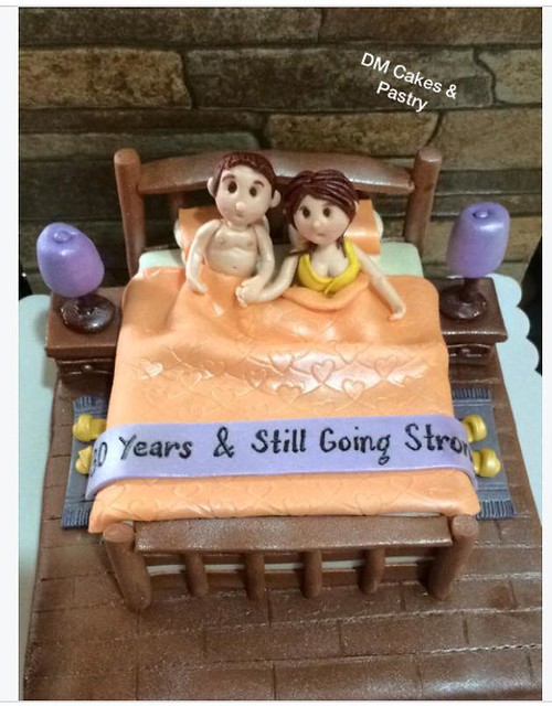 Anniversary Cake by Aida Guieb - Biocarles of DM Cakes and Pastry's