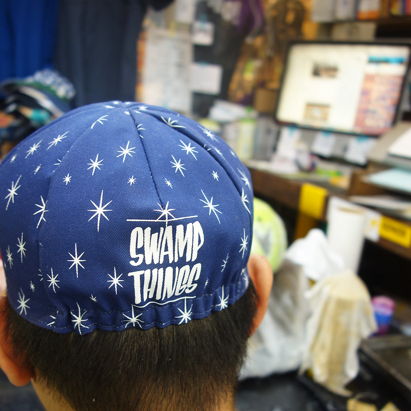 Swamp Sparkle Cycle Cap