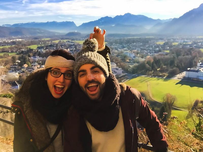 · Qué ver en Salzburgo · Vistas desde la Fortaleza Hohensalzburg · Austria · Salzburg · Click_Trip ·