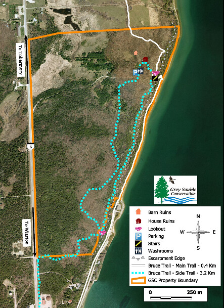 Spirit Rock CA Trail Map