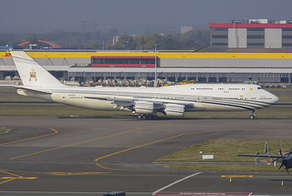 V8-BKH, Boeing 747-8LQ Brunei Government @ Brussels BRU EBBR