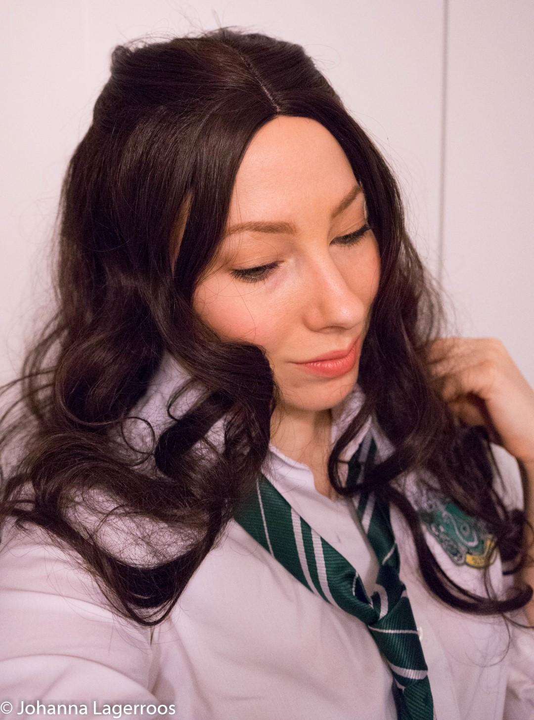 Hogwarts student makeup