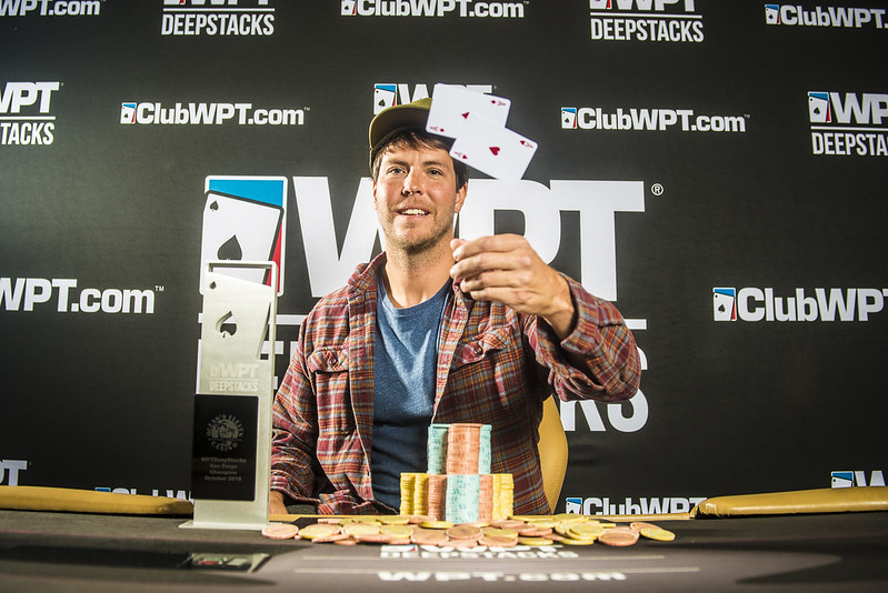 Maxwell Young Wins WPTDS San Diego