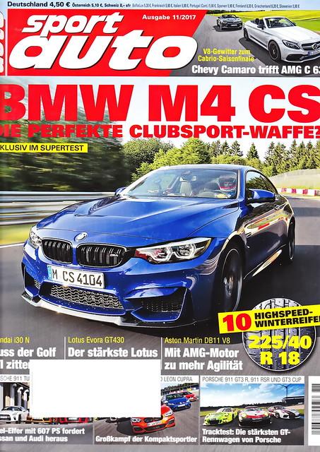 sport auto - 2017-11 - cover