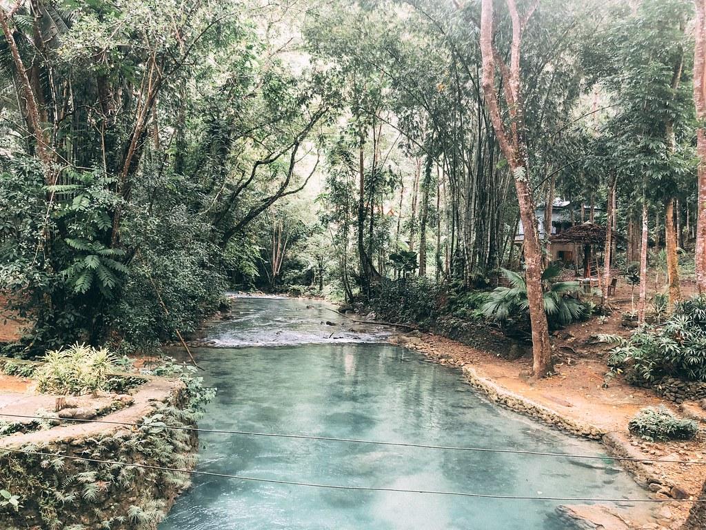 Near Kawasan Falls | Cebu Itinerary