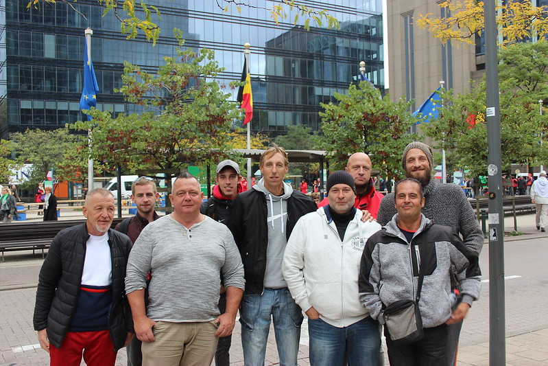28 septembre 2018 - Manifestation - Statut fonctionnaires (Bruxelles)
