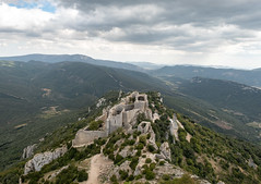 Peyrepertuse - Photo of Saint-Arnac