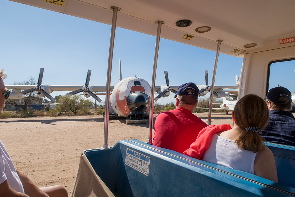 Tram ride at Pima Air and Space Museum | Tucson