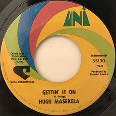 HUGH MASEKELA:GETTIN' IT ON(LABEL SIDE-A)