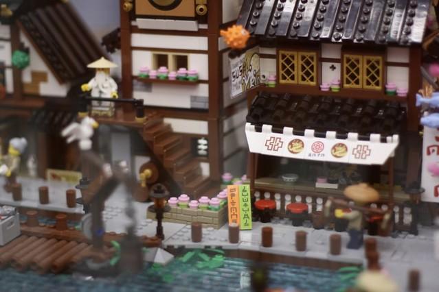 Traditional Japanese Harbour @PisaBrickArt2018