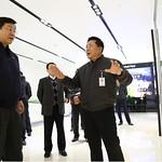 주형환 산업통상부 장관, LG디스플레이 파주 사업장 방문.