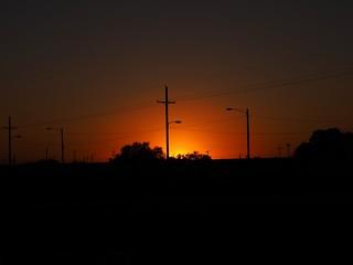 Mid week Sunset.