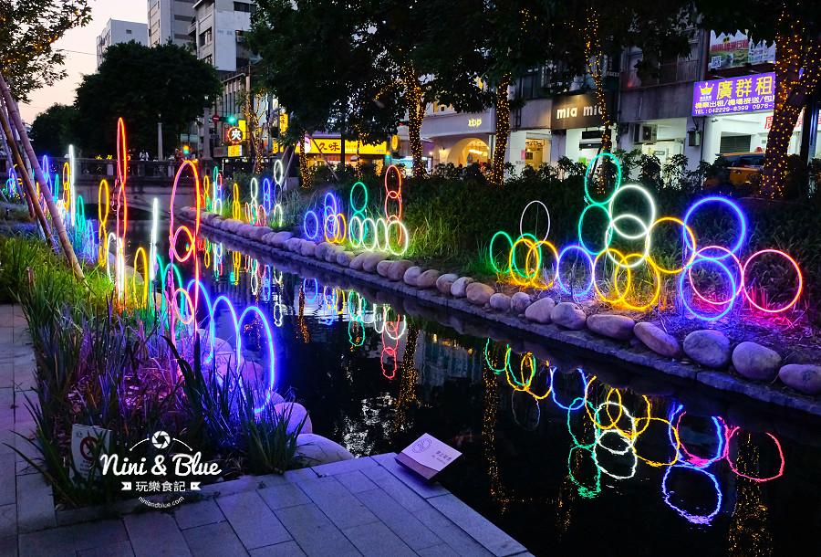 柳川水岸 2018 新盛綠川 燈節 IG打卡03