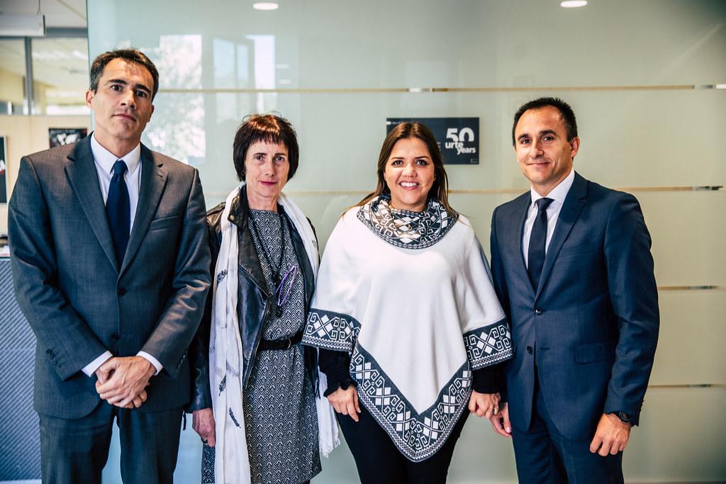 Visita de la vicepresidenta de Ecuador a Copreci