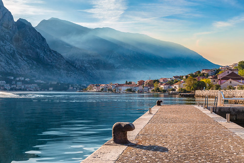 prčanj opštinakotor juodkalnija me boka kotorska бока которска montenegro crna gora sea mall mountains sunrise water mountain nature ocean beach lake landscape sky coast outdoors rock island tourism bay travel outdoor reflection seashore noperson sitting promontory cloud rocky architecture mountainrange man building fjord temple