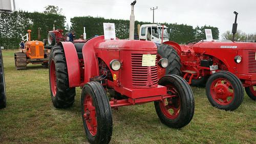 1954 David Brown Cropmaster tractor.
