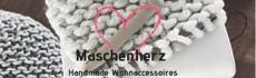 Maschenherz Banner