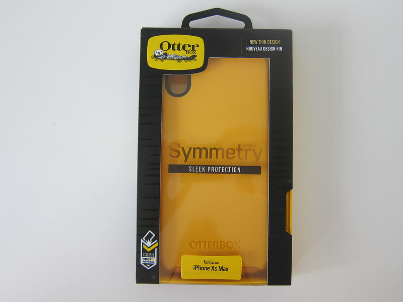 OtterBox Symmetry (Aspen Gleam) for iPhone XS Max - Box Front