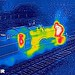 Thermal Image GWR Manor by Peter Brabham