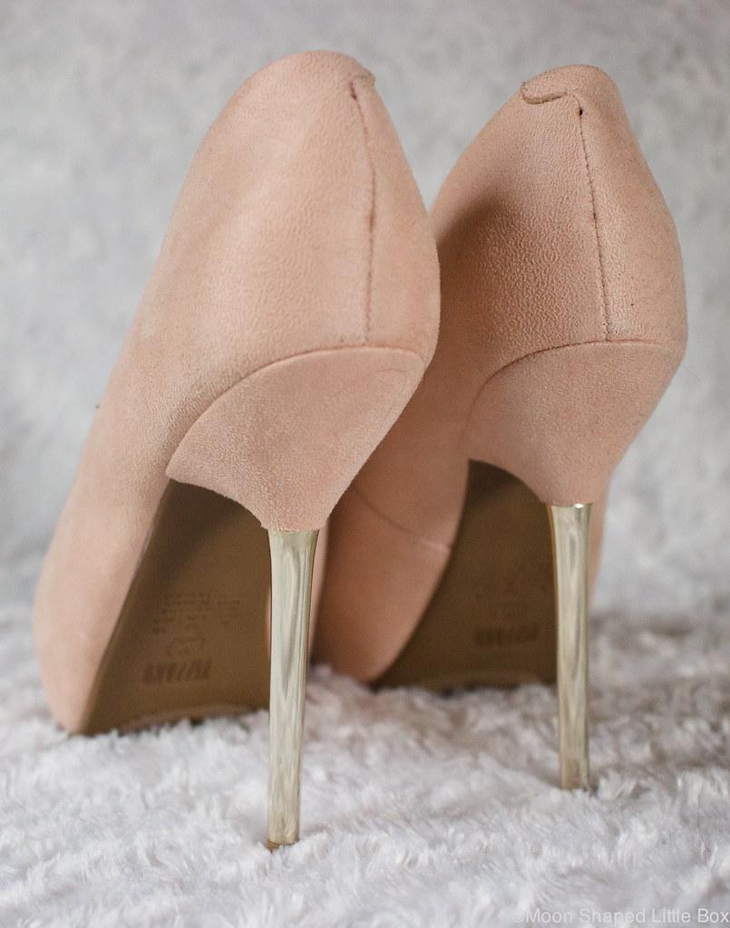 metalliset korot, kengät Espanjasta, edulliset korkokengät