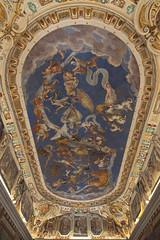 Caprarola, palazzo Farnese, sala del mappamondo, soffitto